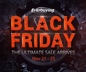 Confira as ofertas na Black Friday Everbuing