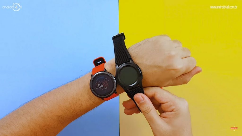 comparativo do NO.1 G8 com o AMAZFIT.