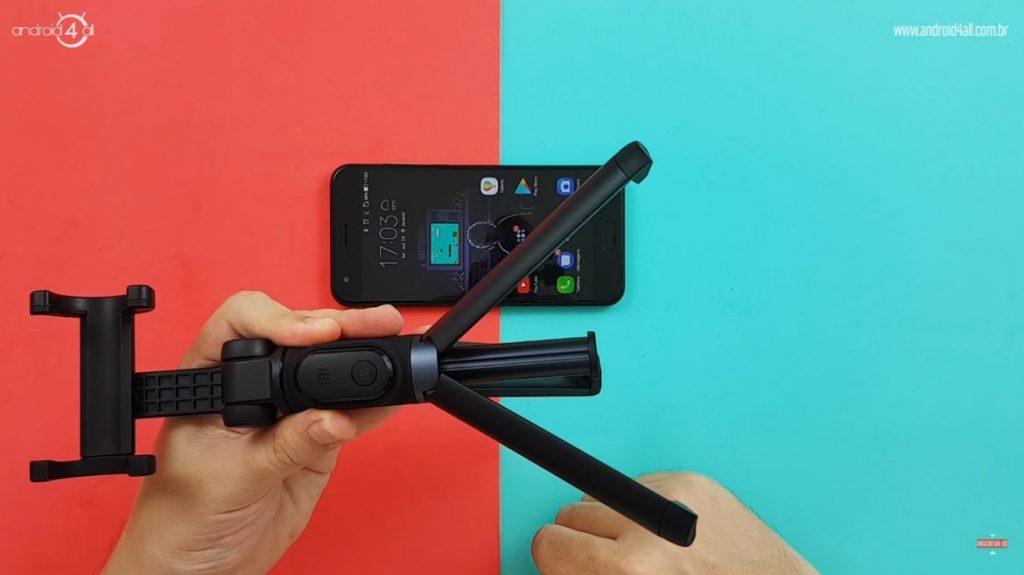 Função do tripé do Xiaomi Selfie Stick