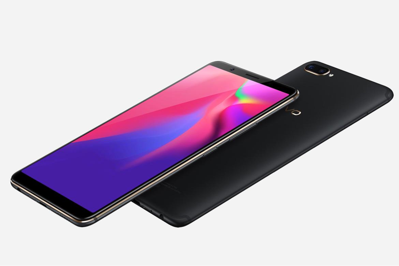 Smartphone com leitor de digital na tela
