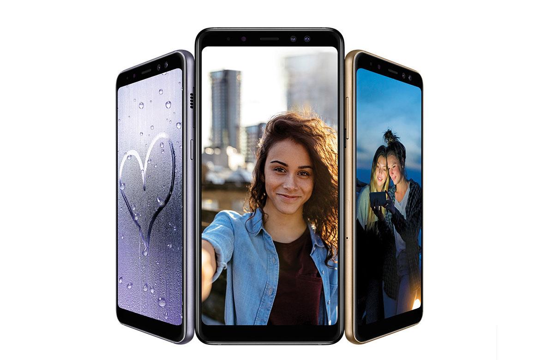 Novos Galaxy A8 e A8+ - Android4All