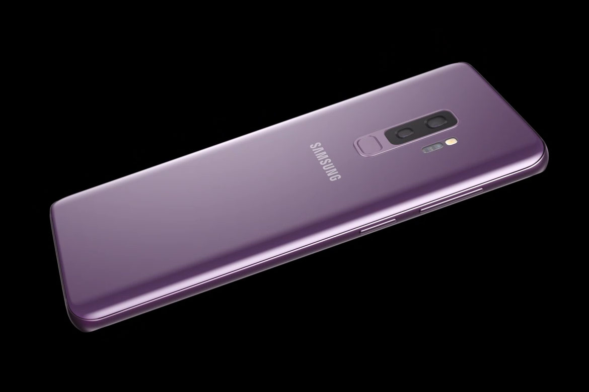 Parte traseira do Galaxy S9 e S9+