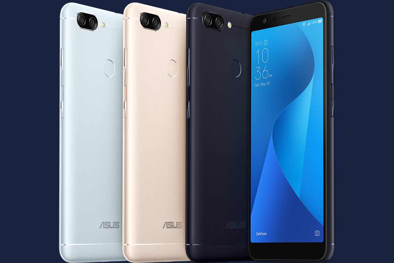 As cores disponíveis do novo Zenfone Max Plus
